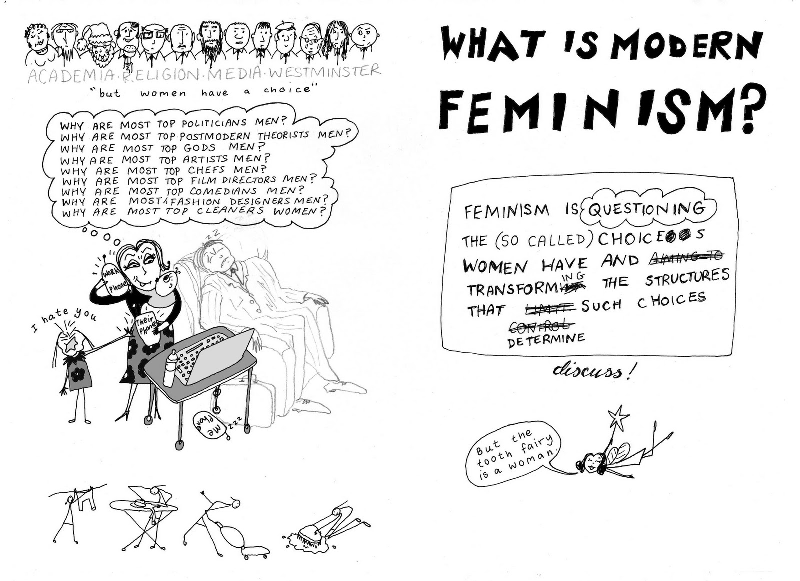 an understanding on the word feminism Feminism can be a confusing word to some people do feminists believe that women are superior to men are they anti-man these are common misconceptions about.