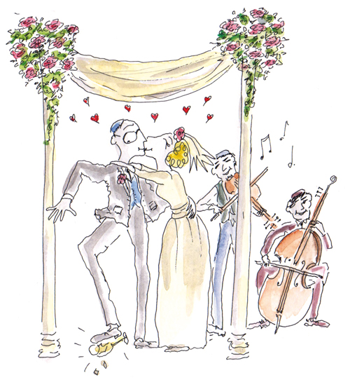 Jewish Wedding Illustrations Nicola Streeten