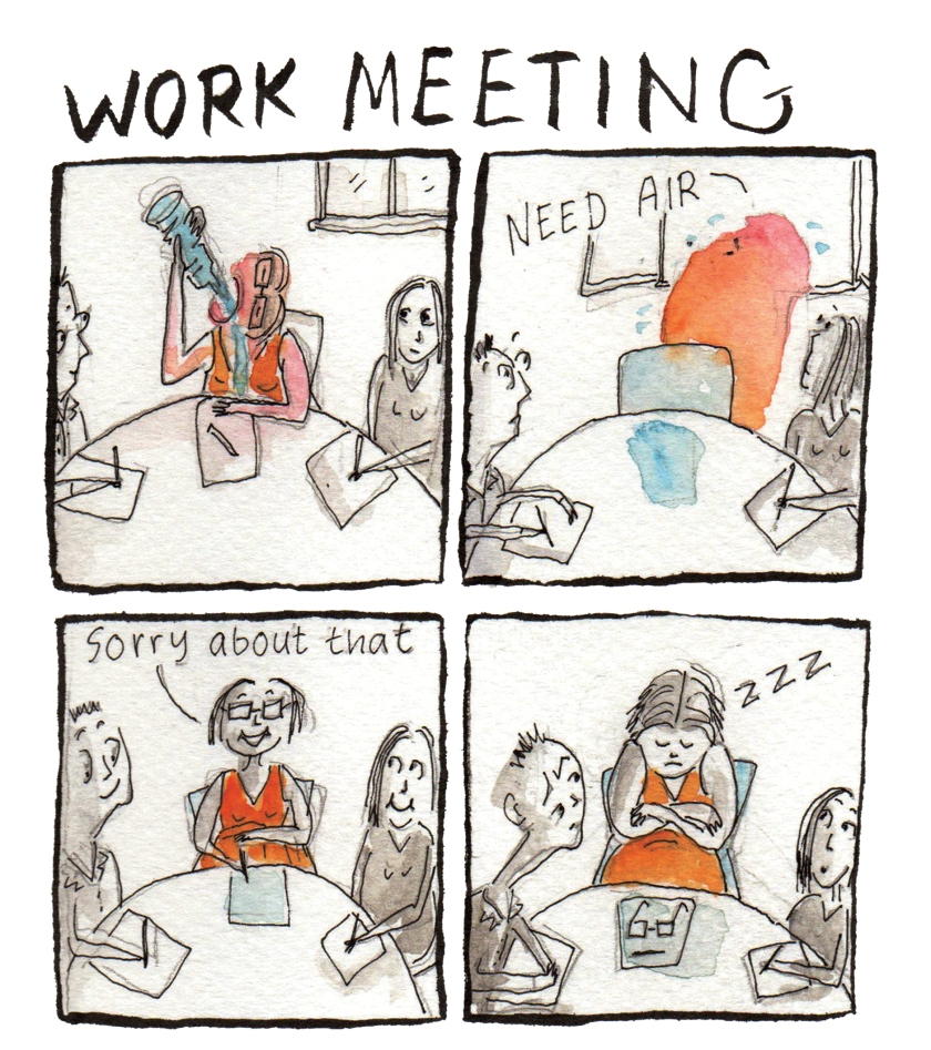 work meeting
